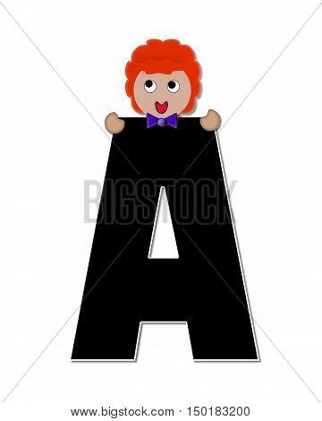 Alphabet Children Expressions A