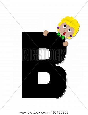 Alphabet Children Expressions B