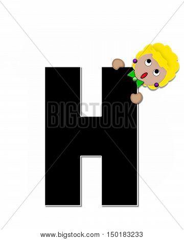 Alphabet Children Expressions H