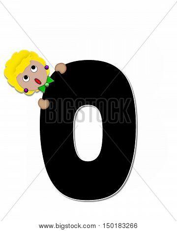 Alphabet Children Expressions O