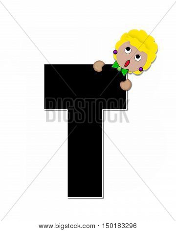 Alphabet Children Expressions T