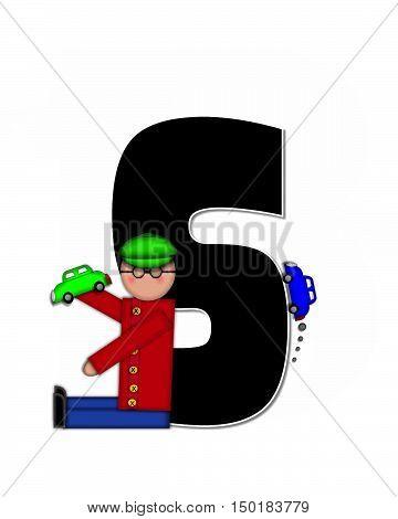 Alphabet Children Automobiles S