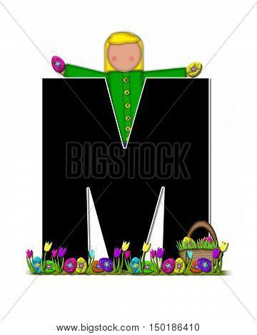 Alphabet Children Easter Egg Hunt M