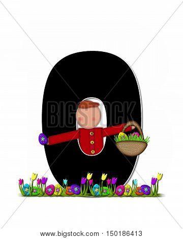 Alphabet Children Easter Egg Hunt O