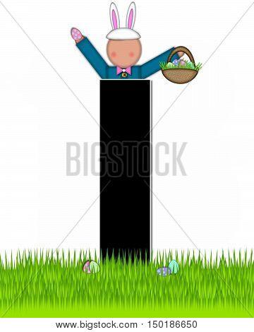 Alphabet Children Easter Eggs I