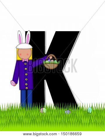 Alphabet Children Easter Eggs K