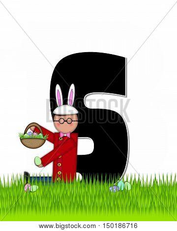 Alphabet Children Easter Eggs S