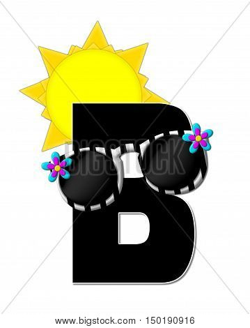 Alphabet Sun Shades B