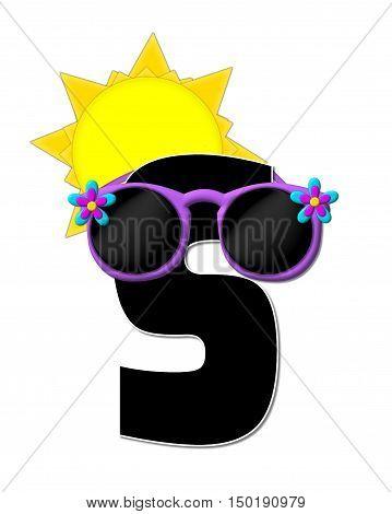 Alphabet Sun Shades S