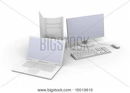 Laptop And Desktop Pc