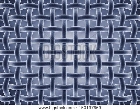 Microscopic fibers Fabric structure , Fibers , 3d illustration