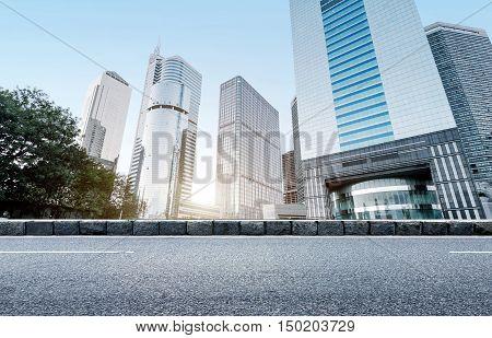 China Guangzhou Pearl River New City high-rise Guangzhou landmarks.