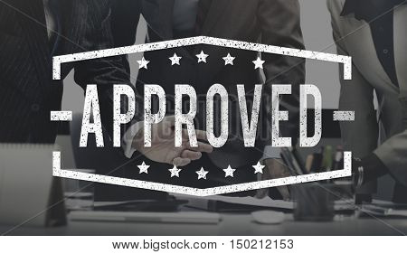 Business Approved Assurance Quality Concept