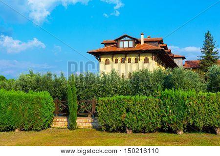 The Holy Monastery of St. John the Theologian in Souroti, Thessaloniki, Greece
