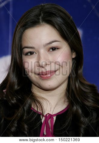 Miranda Cosgrove at the Los Angeles premiere of 'Charlotte's Web' held at the ArcLight Cinemas in Hollywood, USA on December 10, 2006.