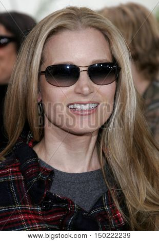 Bridget Fonda at the Los Angeles premiere of 'Charlotte's Web' held at the ArcLight Cinemas in Hollywood, USA on December 10, 2006.