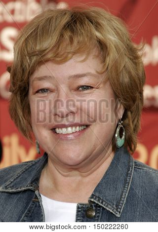 Kathy Bates at the Los Angeles premiere of 'Charlotte's Web' held at the ArcLight Cinemas in Hollywood, USA on December 10, 2006.