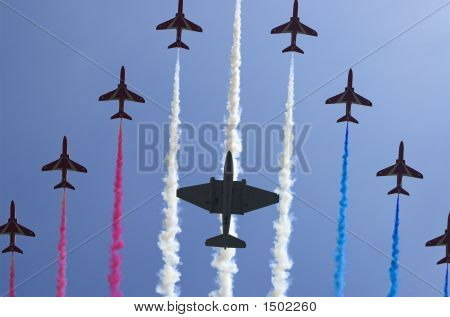 The Red Arrows Squadron