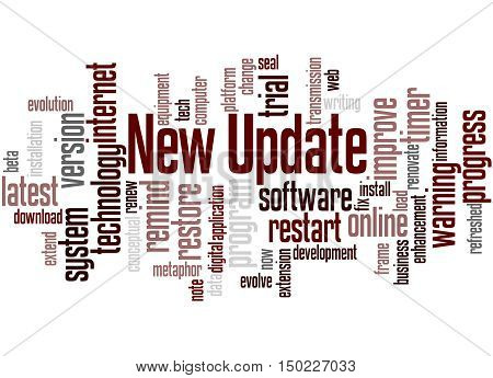 New Update, Word Cloud Concept 5