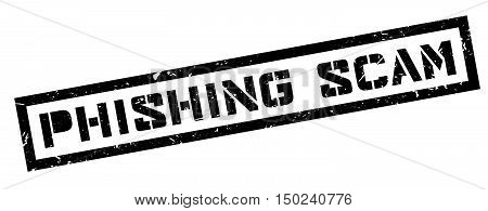 Phishing Scam Rubber Stamp
