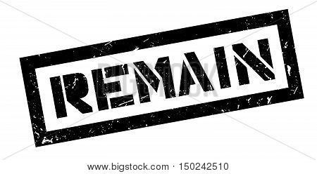 Remain Rubber Stamp