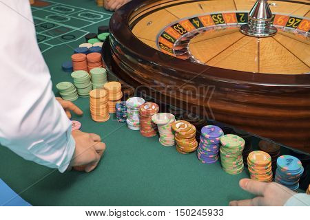 Casino -- gambling establishment in which use the roulette