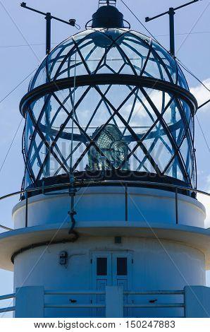 Detail Of Estaca De Bares Lighthouse