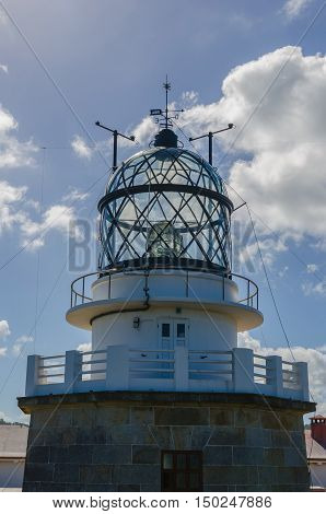 Detail On Estaca De Bares Lighthouse