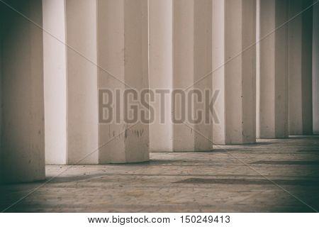 white columns large columns white background, white