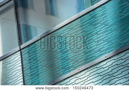 Glass Reflection Of A Building