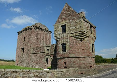 A view of the ruins of Burleigh castle