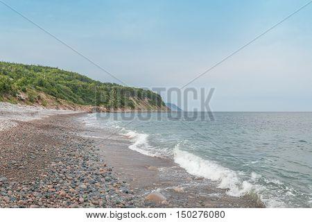 Ocean shore (Cape Breton Nova Scotia Canada)