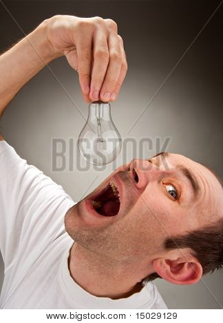 Man Eating Bulb