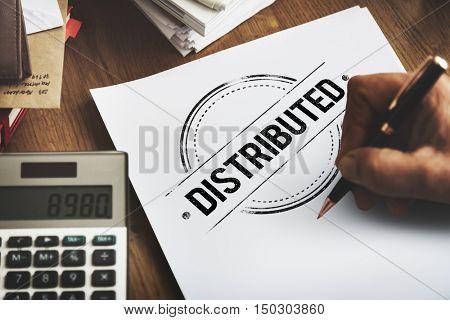 Distributed Dealing Arrangement Spread Supply Concept