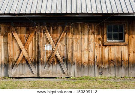 Rural Barn Wall