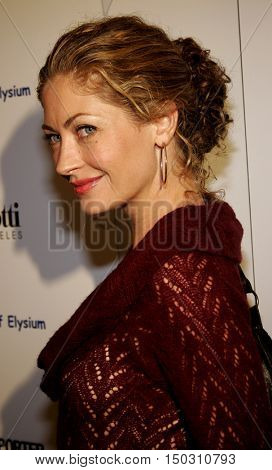 Rebecca Gayheart at the Art of Elysium Presents Russel Young 'fame, shame and the realm of possibility' held at the Minotti Los Angeles in West Hollywood, USA on November 30, 2005.