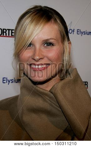 Bonnie Sommerville at the Art of Elysium Presents Russel Young 'fame, shame and the realm of possibility' held at the Minotti Los Angeles in West Hollywood, USA on November 30, 2005.