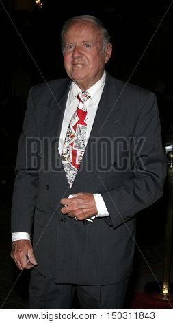 Dick Van Patten at the Los Angeles Free Clinic's 29th Annual Dinner Gala at the Regent Beverly Wilshire in Beverly Hills, USA on November 21, 2005.