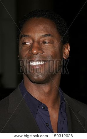 Isaiah Washington at the Los Angeles Free Clinic's 29th Annual Dinner Gala at the Regent Beverly Wilshire in Beverly Hills, USA on November 21, 2005.