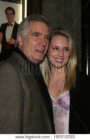 John McCook at the White Christmas stage musical opening held at the Pantages Theatre in Hollywood, USA on November 28, 2005.