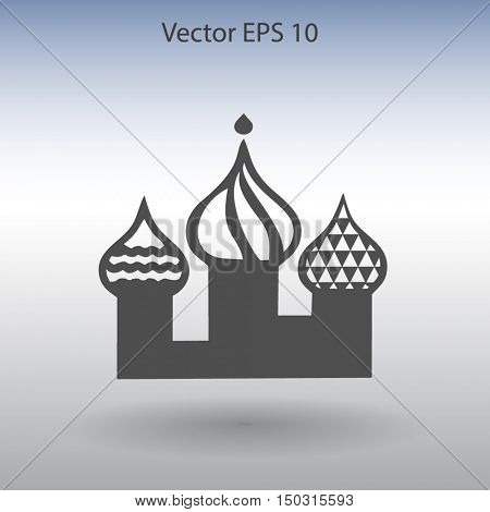 The three cathedral vector illustration