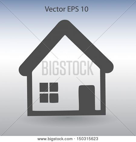 cottage vector illustration