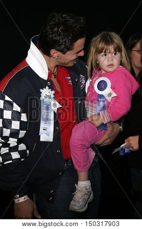 Antonio Sabato Jr. at the 2005 Hollywood Christmas Parade held at the Hollywood Roosevelt Hotel in Hollywood, USA on November 27, 2005.
