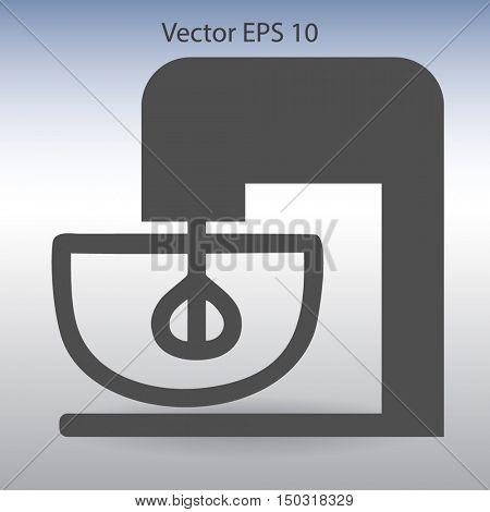 stationary mixer vector illustration