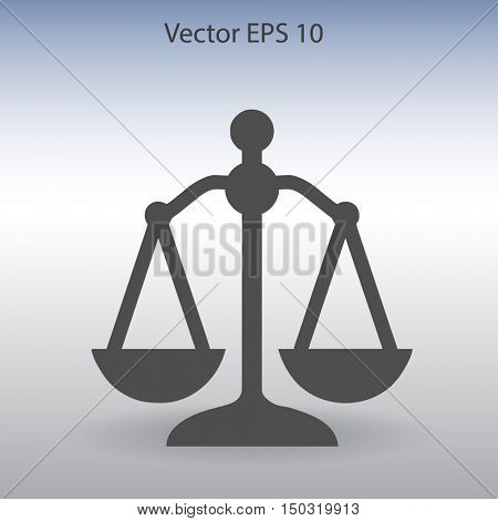 Scales vector illustration