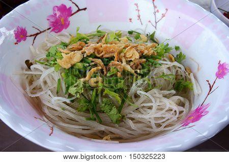 Vietnamese Street Food, Noodle Soup
