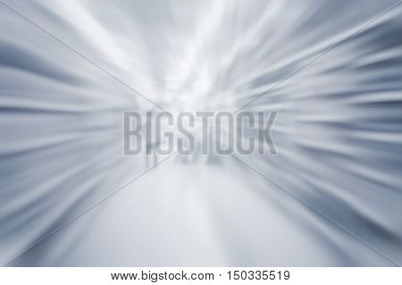 Abstract blurred path way for way, success, technology background concept