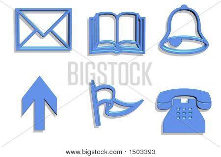 3D Symbol Icons