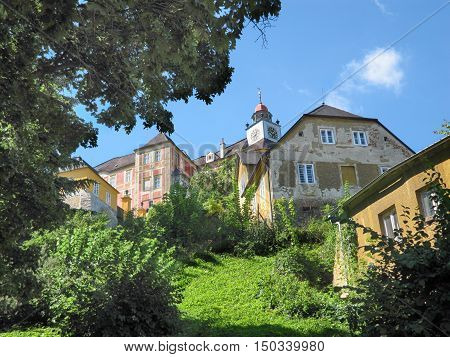 State Castle Jansky Hill (Jansky Vrch) Czech National Cultural Monument Olomouc Region Czech Republic