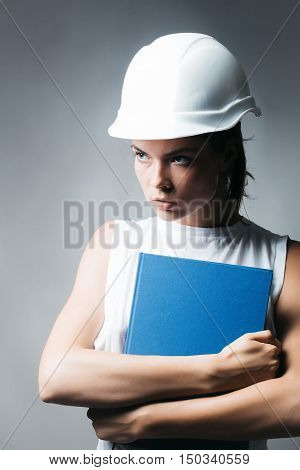 Young Woman Forewoman Engineer